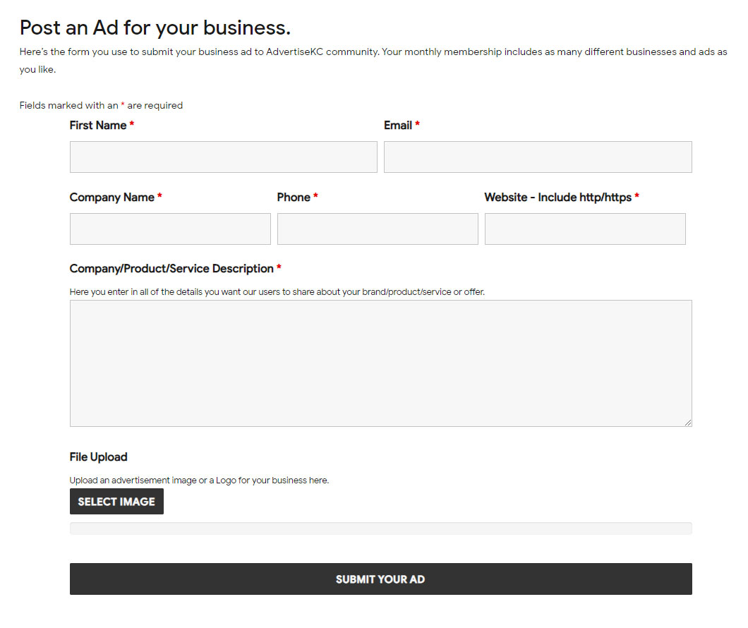 Post-An-Ad-For-Your-Business
